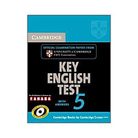 Key English Test 5 with Answers Reprint Edition - Cambridge