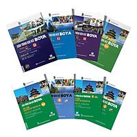 Combo Trọn Bộ 8 Cuốn Giáo Trình Hán Ngữ BOYA Trình Độ Sơ - Trung Cấp ( Tặng Kèm Tập Viết Chữ Hán Theo Giáo trình Boya + Bookmark )