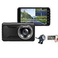 Camera Hành Trình Xe Tải, Xe Khách, Xe Hơi T3 RoadCam 2K Full HD - Màn Hình Cảm Ứng Tích Hợp GPS, Wifi, Xem Trên Điện Thoại - Hàng Nhập Khẩu