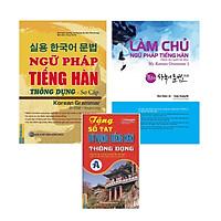 Combo 2 Cuốn: Làm Chủ Ngữ Pháp Tiếng Hàn Dành Cho Người Mới Bắt Đầu Và Ngữ Pháp Tiếng Hàn Thông Dụng Sơ Cấp tặng Sổ Tay Tiếng Hàn Trình Độ A và Video 6000 từ vựng tiếng Hàn Quốc thông dụng qua hình ảnh - Learn Korean Vocabulary by image