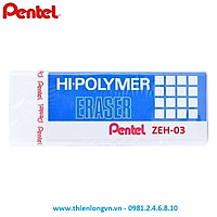 Tẩy Pentel  trắng nhỏ - ZEH-03