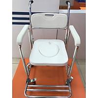 Ghế bô-xe tắm-xe lăn-ghế ngồi 4 chức năng trong 1
