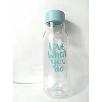 Bình Đựng Nước Hoa Quả Detox Lock&Lock Milky 500ml nhựa PET BPA Free HAP654