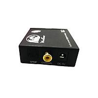 Bộ chuyển đổi âm thanh Optical to AV chính hãng Vinagear, Công Suất Lớn, Có Cổng Out L/R và 3.5mm