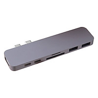 Cổng Chuyển HyperDrive Hub USB Type-C Dành Cho Macbook Pro 13
