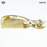 Lược sừng con Phượng - COH115 (Size: L - 18cm) Quà tặng ý nghĩa dành cho những người thân yêu - Chăm sóc tóc