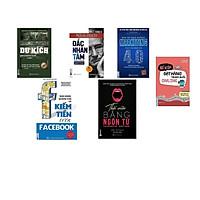 Combo 6 cuốn: Marketing du kích+ Bán hàng quảng cáo Facebook+ Bán mà như không marketing 4.0+ Thuật thôi miên bằng ngôn từ+ Đắc nhân tâm+ Bí kíp đặt hàng trung quốc online( tặng 1 giá đỡ iring cute)