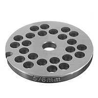 【Free Shipping】Stainless Steel Meat Grinder Discs And 6mm Hole for #5 Meat Grinder