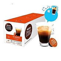 Cà phê đen viên nén đậm đặc phong cách Mỹ Nescafe DOLCE GUSTO (3 hộp/ dải)