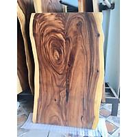 Mặt bàn gỗ Me Tây ghép tự nhiên MTG63 sang trọng