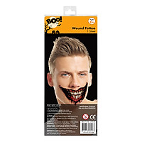 Hình Vẽ Khoáng Miệng Lớn Nhiều Loại Halloween Uncle Bills UH01026