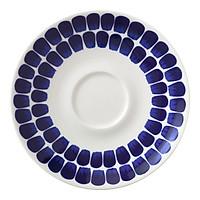Đĩa sứ Tuokio Iittala, họa tiết xanh cobalt