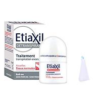 Lăn Khử Mùi Etiaxil Detranspirant Traitement Aisselles Peaux Normales 15ml (Dành cho da thường) + Tặng 1 Lưới Tạo Bọt Rưa Mặt