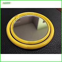Gương Mini bỏ túi siêu tiện lợi - Màu vàng