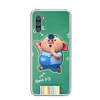 Ốp lưng điện thoại VSMART ACTIVE 3 - Silicon dẻo - 0119 PIG20 - Hàng Chính Hãng