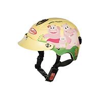 Mũ Bảo Hiểm Andes Trẻ Em - 3S108S Tem Nhám S100 - Vàng