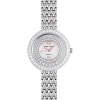 Đồng hồ nữ chính hãng Royal Crown 3628 dây thép vỏ trắng