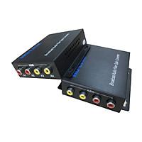 Bộ chuyển đổi audio sang quang 2 chiều Ho-link HL-2A2S-20T/R ( 2 thiết bị) - Hàng Chính Hãng