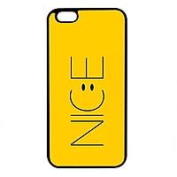 Ốp lưng dành cho Iphone 6 Plus N.I.C.E Vàng - Hàng Chính Hãng