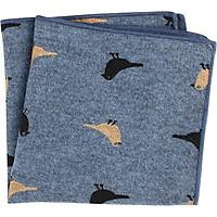 Unisex Cartoon Printing Patterns Cotton Pocket Square Casual Suit Handkerchief