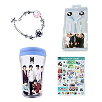 Combo quà tặng BTS Army tặng sticker BTS