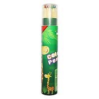 Bút Chì Màu Hộp Giấy Tròn Smart Kids SK-CP2001 - 12 Màu