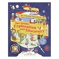 Sách tương tác tiếng Anh - Usborne See Inside Exploration and Discovery