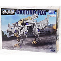Chiến Binh Thú ZW34 Gatling Fox (Zoids Wild - Thú Vương Đại Chiến)