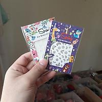 Combo 2 sticker dán móng tay mẫu đẹp - Giao mẫu ngẫu nhiên