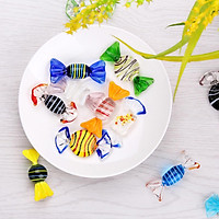 24PCS Glass Candy Colorful Decorations Wedding Activities are Suitable for The Scene of The Party