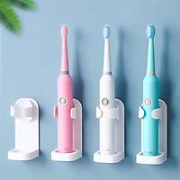 Giá treo kẹp máy đánh răng điện và máy cạo râu dùng miếng dính tường, cho các loại máy Oral B, Philips, Panasonic, Xiaomi… MIHOCO