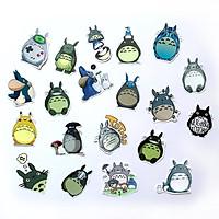 Bộ 20 Sticker Totoro Hình Dán Chủ Đề Phim Hoạt Hình Dễ Thương Cute Chống Nước Decal Chất Lượng Cao Trang Trí Va Ly Du Lịch Xe Đạp Xe Máy Xe Điện Motor Laptop Nón Bảo Hiểm Máy Tính Học Sinh Tủ Quần Áo Nắp Lưng Điện Thoại