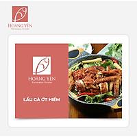 Hoàng Yến Vietnamese Cuisine - Lẩu Gà Ớt Hiểm