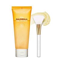 Mặt nạ tẩy tế bào chết Real Calendula Peel Off Pack Aprilskin - Cọ Real Jelly Brush