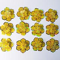Combo 12 Hoa Mai 3D Trang Trí Tết Chất Lượng Giấy Đẹp, Sang - Loại 10cm