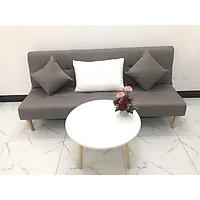 Bộ ghế sofa giường 1m7x90, sofa bed, sofa vải phòng khách, salon linco12  sô pha