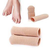 New Soft Gel Cap Finger Toe Sore Tube Protector Small Foot Care Health