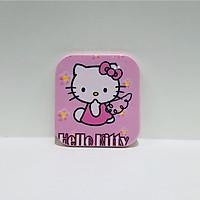 Gương kèm lược vuông Hello Kitty