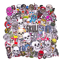 Set 100 Sticker - Skull
