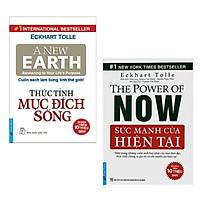 Combo Sách Kỹ Năng Sống Hay Nhất: Thức Tỉnh Mục Đích Sống +  Sức Mạnh Của Hiện Tại ( Tặng Kèm Bookmark Green Life)