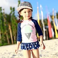Bộ bơi hình kem bé gái từ 1 đến 8 tuổi
