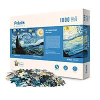 Puzzle Pokolo - Bộ Xếp Hình 1000 Miếng - Chủ Đề: Các Tác Phẩm Nghệ Thuật