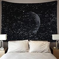 Thảm Treo Tường Tranh Vải Thảm Tapestry Chủ Đề Tâm Linh - Không gian