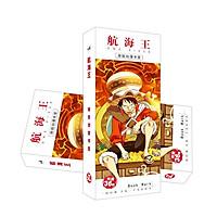 Bookmark anime One Piece Stampede hộp ảnh 36 tấm đánh dấu trang in hình tặng thẻ Vcone