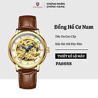 Đồng hồ cơ nam PAGINI bát mã tài lộc - đồng hồ bát mã đẳng cấp - hàng chính hãng full box - bảo hành 24 tháng - PA006688