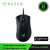 Chuột Razer DeathAdder V2 Mini-Ergonomic Có Dây - Hàng Chính Hãng