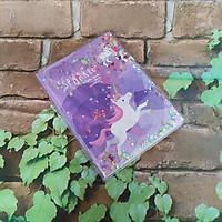 Sổ Tay 70 Trang Kim Tuyến Nước Kích Thước (11cm x 14cm)