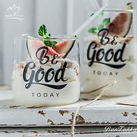 Cốc Thủy Tinh Uống Nước̣ ̣̂ Uống Trà, Cà Phê, Sữa,....Ly Thủy Tinh Chịu Nhiệt Be Good