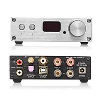 FX-Audio D802C PRO Audio Power Amplifier Wireless Bluetooth 4.2 Support APTX NFC USB /AUX/Optical/Coaxial Pure Digital