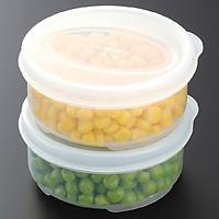 Set 2 hộp bảo quản thực phẩm chịu được nhiệt lò vi sóng - Hàng nội địa Nhật